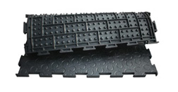 BELMONDO Trend - especially soft rubber mat for horses´ looseboxes