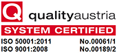 KRAIBURG ISO Certification quality and energy management