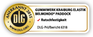 DLG test seal: BELMONDO Paddock is tested by the DLG for slip resistance