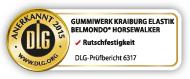 DLG test seal: BELMONDO Horsewalker is tested by the DLG for slip resistance