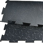 BELMONDO Basic horse stable mat made of rubber for horses´ looseboxes / lying areas