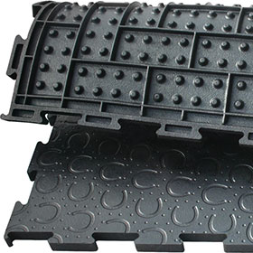 BELMONDO Trend comfort mat made of rubber for horses´ looseboxes / lying areas